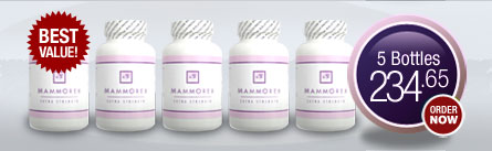 Mammorex Breast Enhancement - 5 Bottles